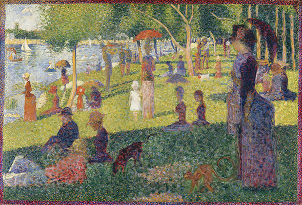 Study for A Sunday on La Grande Jatte