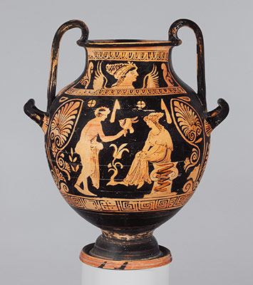 Terracotta nestoris (two-handled jar)