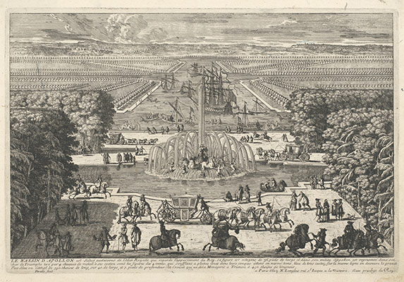 Le Bassin dApollon (The Fountain of Apollo, Versailles): From the series Veues des plus Beaux Lieux de France et dItalie . . .