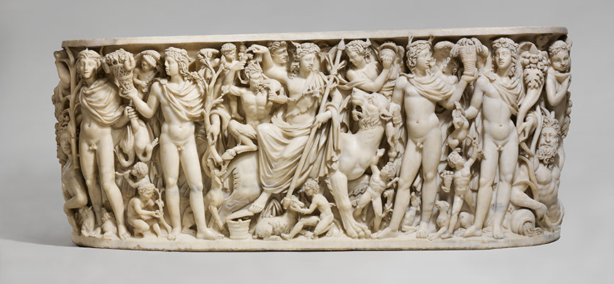 Triumph of Dionysos and the Seasons sarcophagus