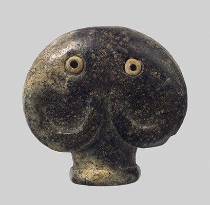Amulet in the form of a head of an elephant