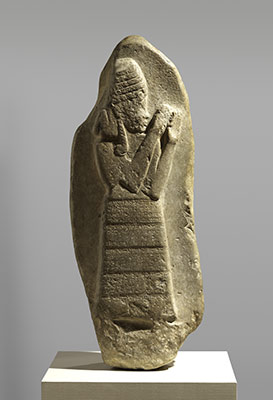 Stele of the protective goddess Lama