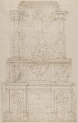 the papacy during the renaissance essay heilbrunn timeline of  design for the tomb of pope julius ii della rovere