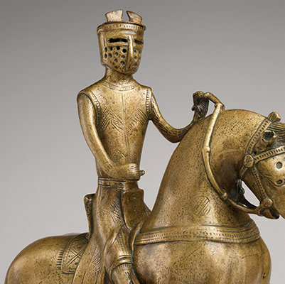 Aquamanile in the Form of a Mounted Knight