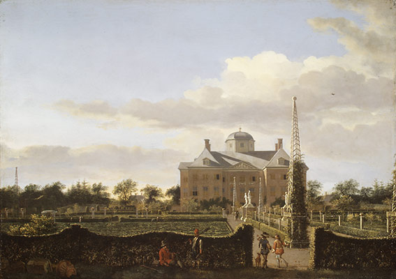 Huis ten Bosch, view of the garden facade
