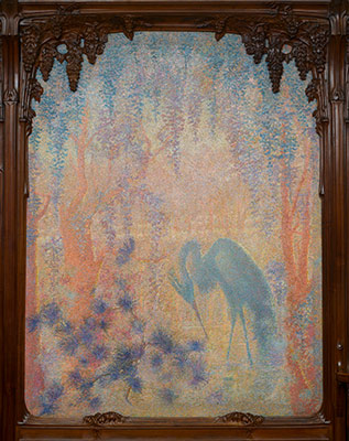 Wisteria Dining Room Murals