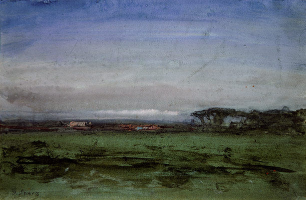 George Inness: Across the Campagnametro north