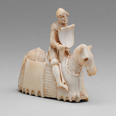 Chess Piece in the Form of a Knight