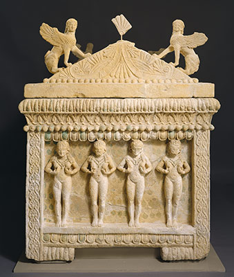 Limestone sarcophagus: the Amathus sarcophagus