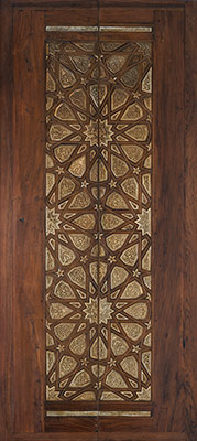 Pair of minbar doors