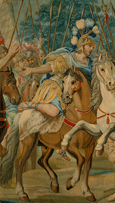 The Crusaders Reach Jerusalem (from a set of Scenes from Gerusalemme Liberata)