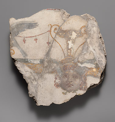 Wall painting fragment