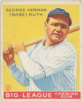 Baseball Cards In The Jefferson R Burdick Collection