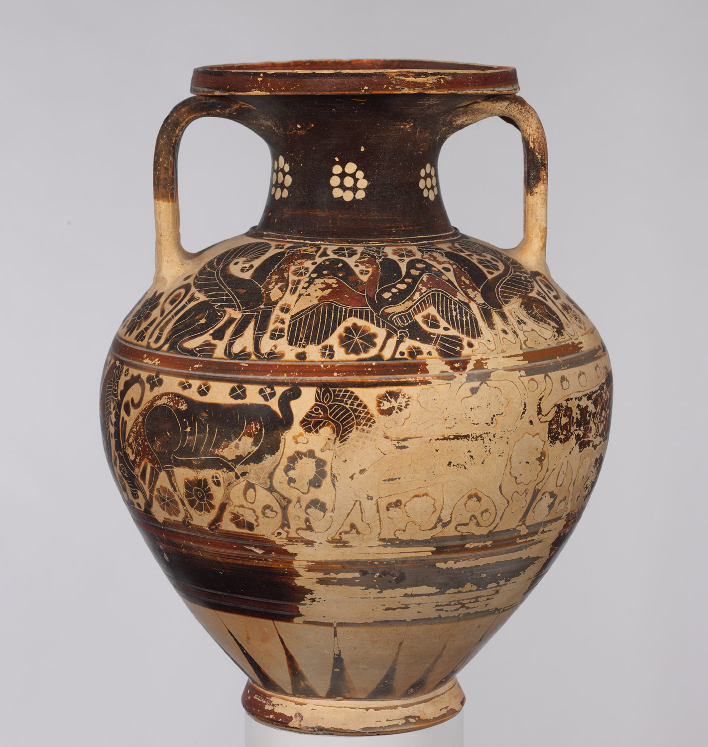 ancient greek colonization and trade and their influence on greek  terracotta neck amphora storage jar