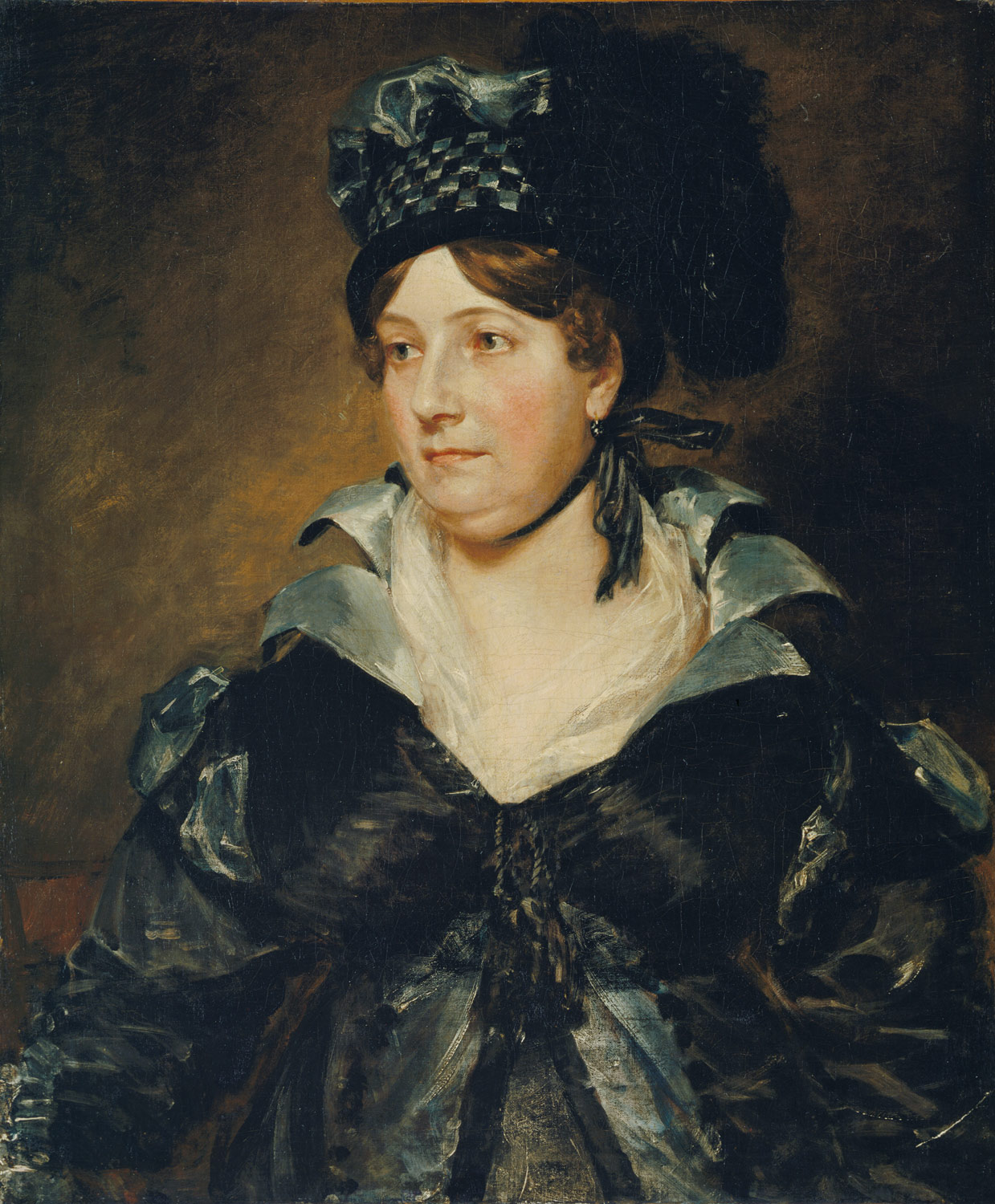 Mrs. James Pulham Sr. (Frances Amys, born about 1766, died 1856)