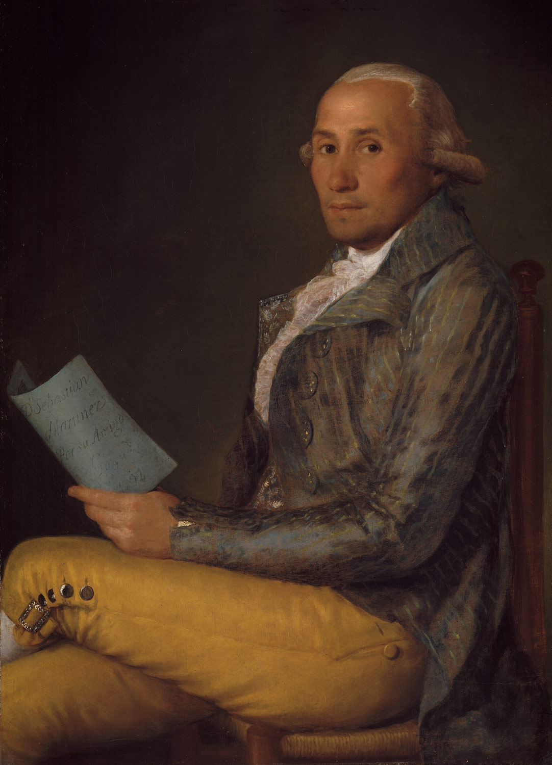 Paintings by Francisco Goya. Biography, the artist 20