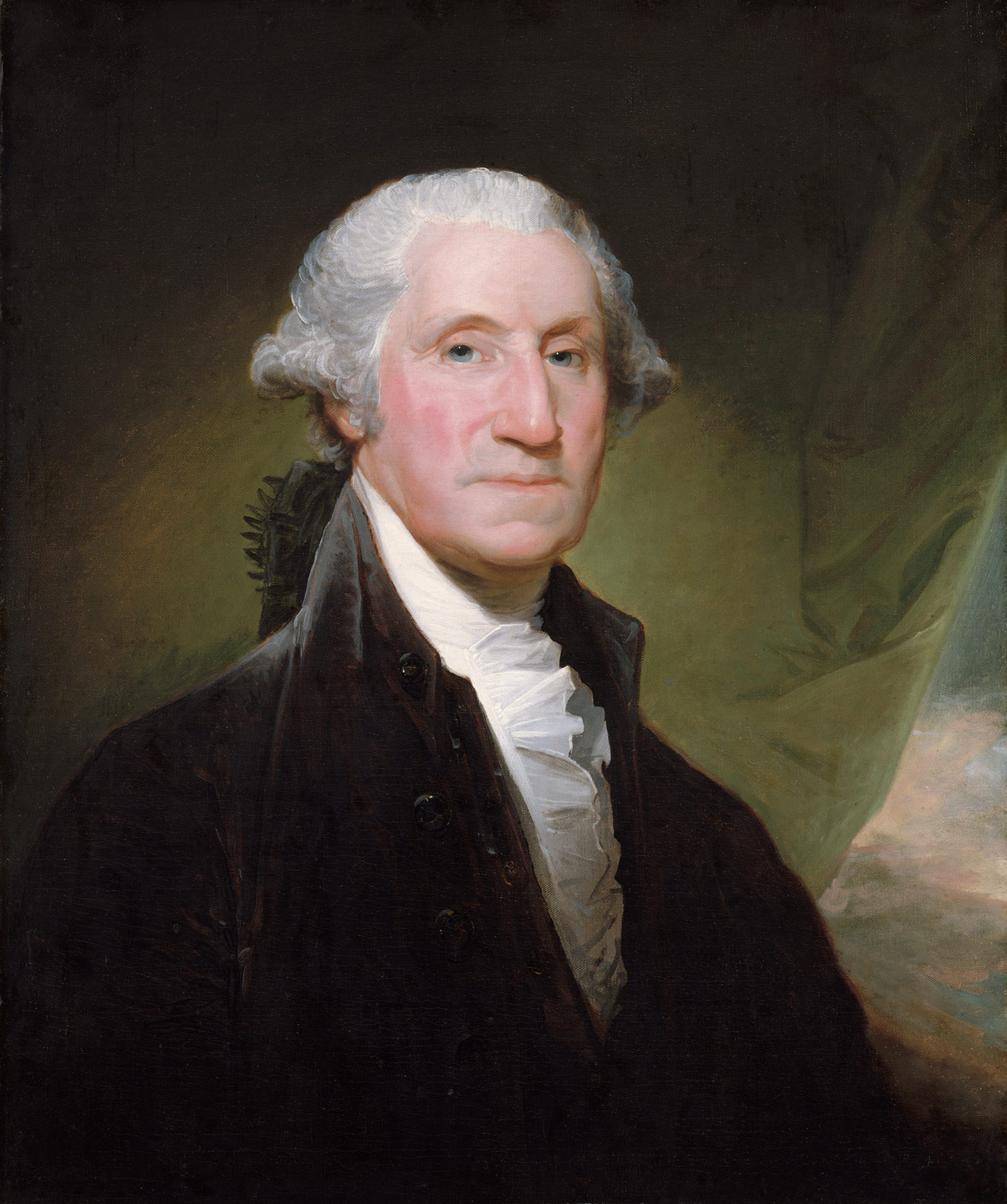 george washington gilbert stuart work of art  george washington