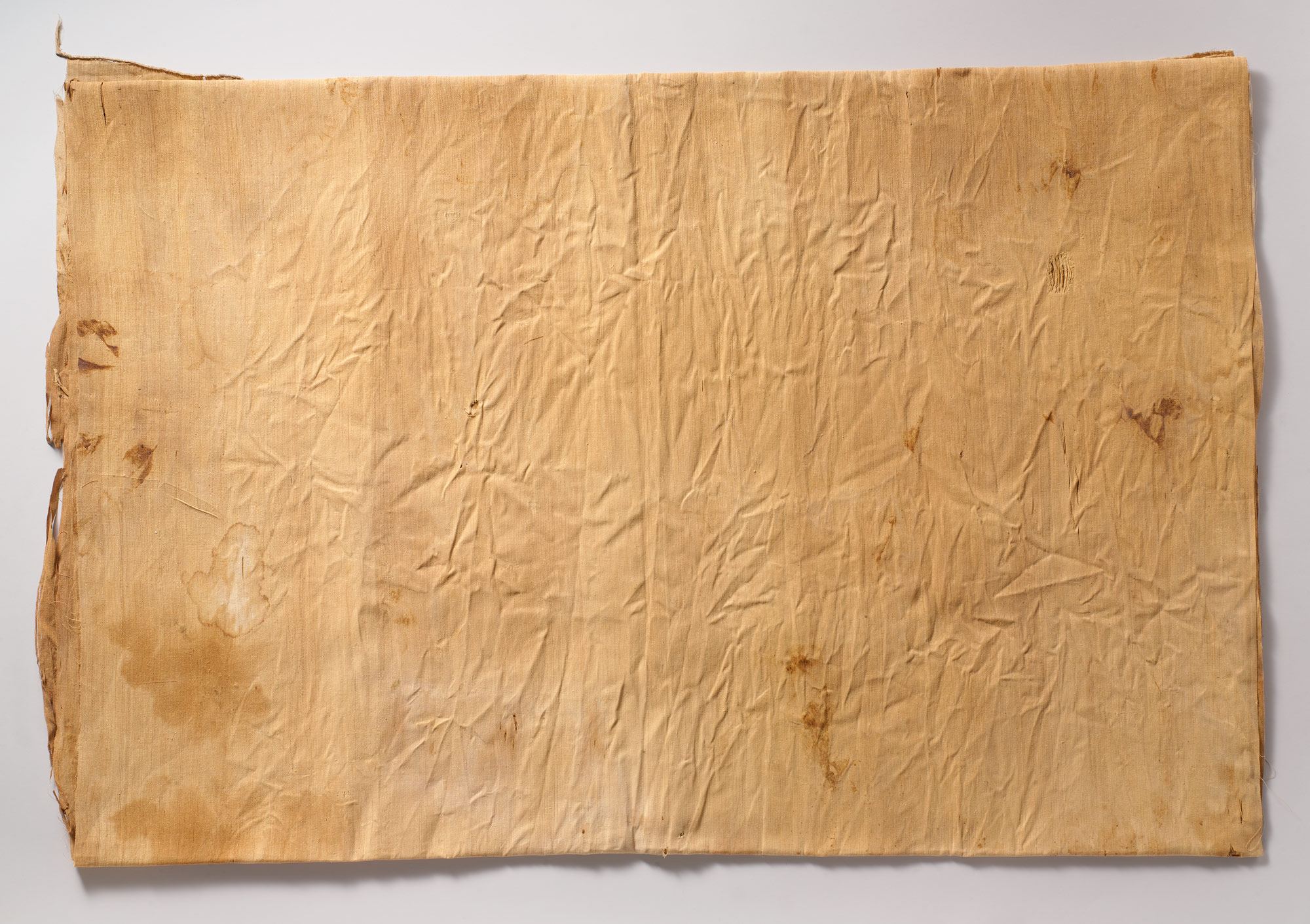 Inscribed Linen Sheet from Tutankhamuns Embalming Cache