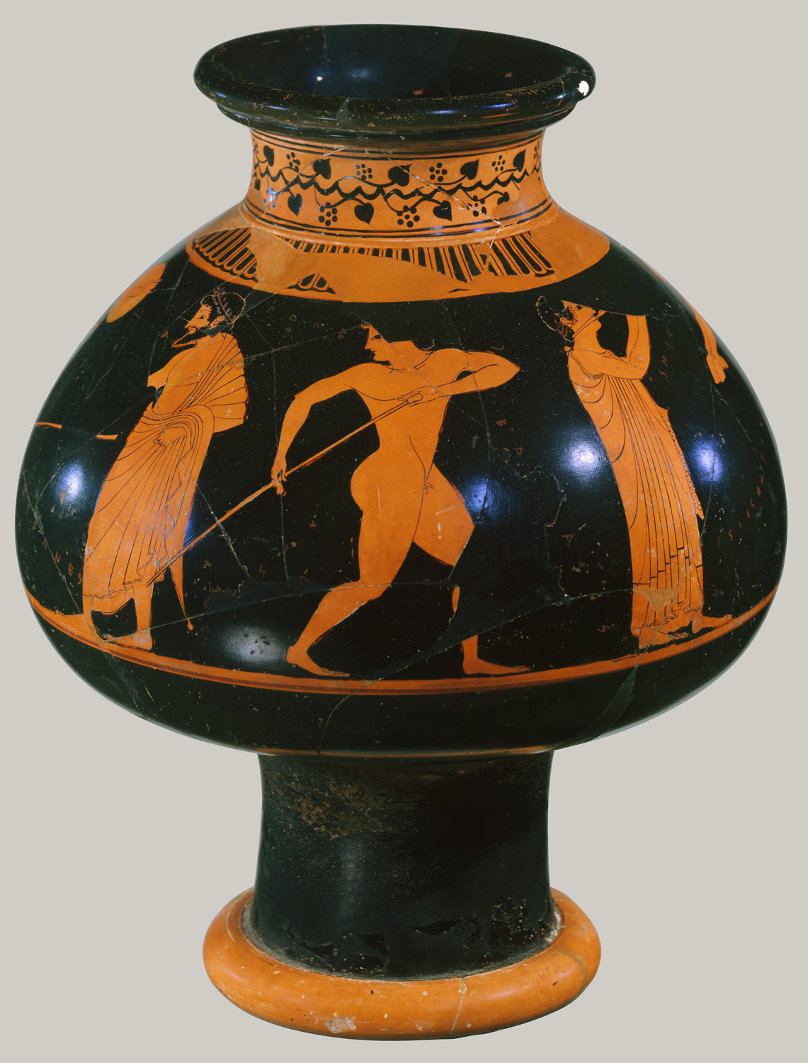 Athenian vase painting black and red figure techniques essay terracotta psykter vase for cooling wine reviewsmspy