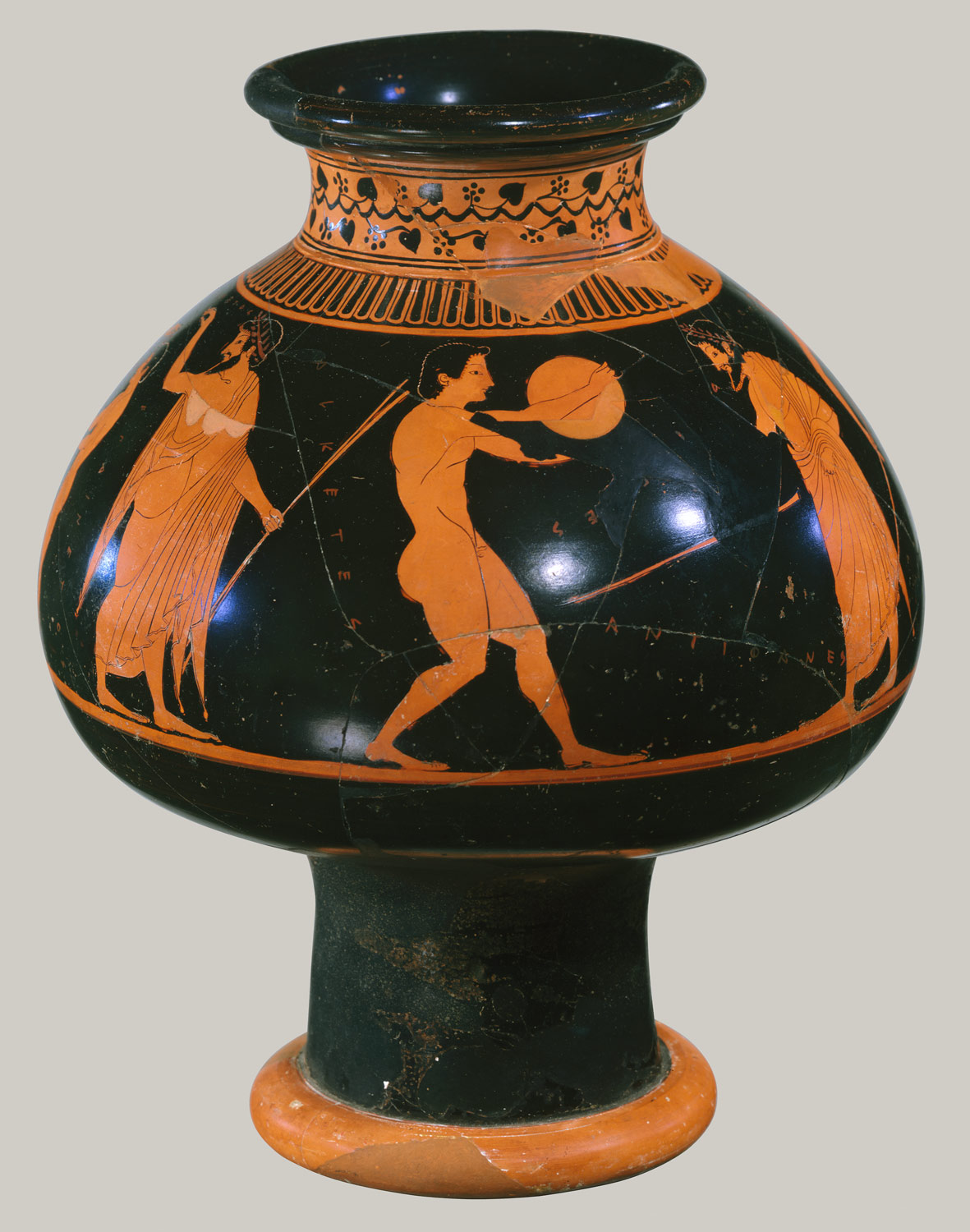 Terracotta Psykter Vase For Cooling Wine Attributed To Oltos 10 210 18 Work Of Art