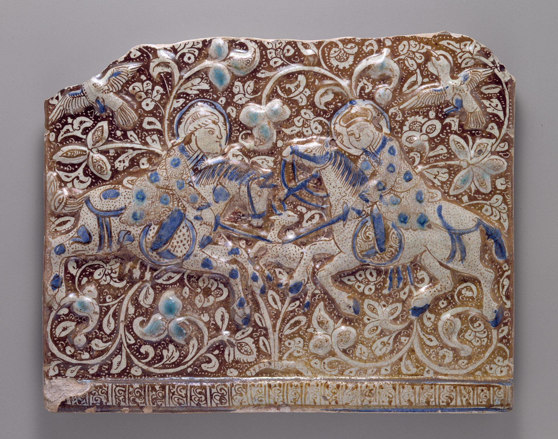 Frieze tile work of art heilbrunn timeline of art history frieze tile dailygadgetfo Images