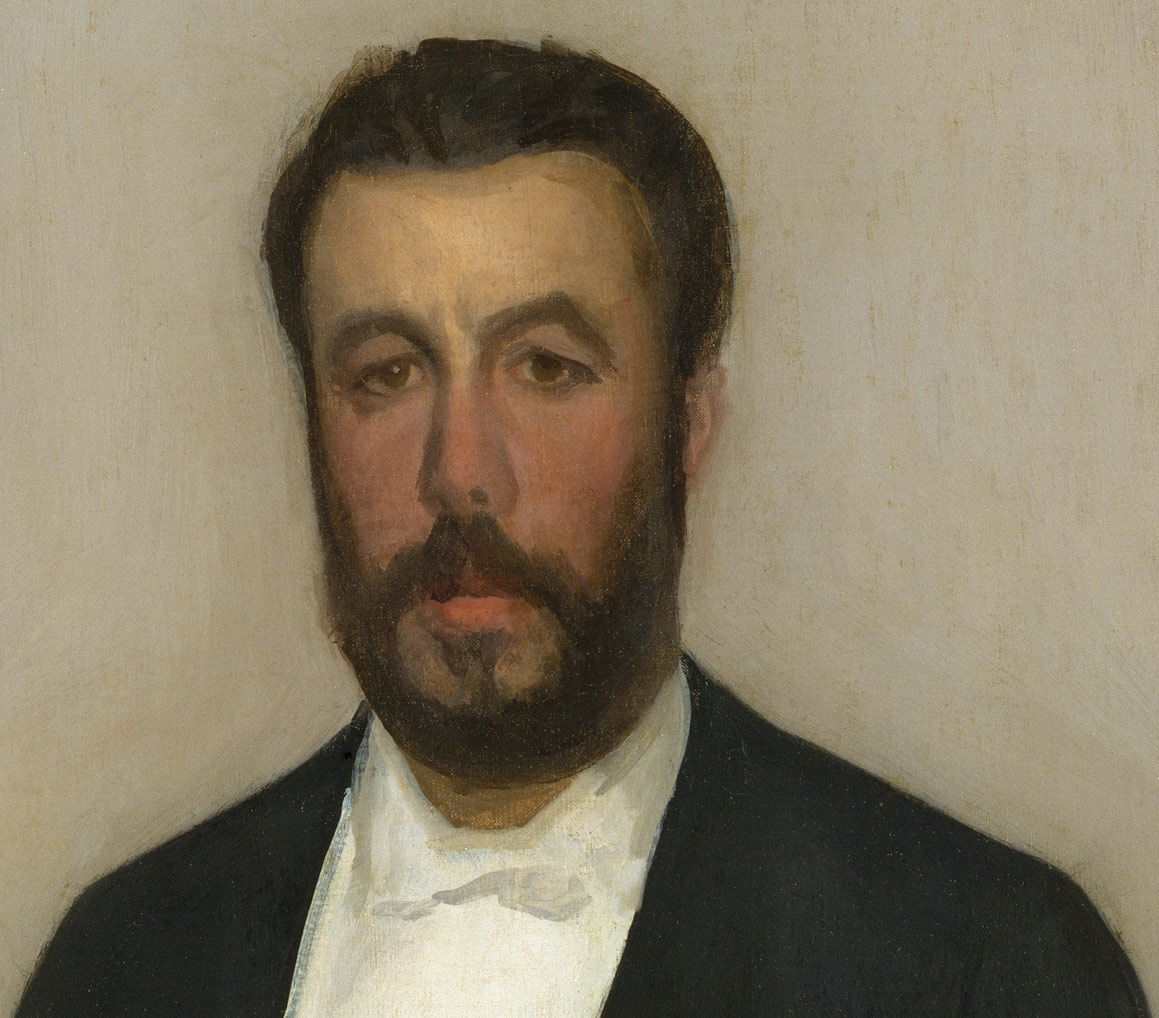 Arrangement in Flesh Colour and Black: Portrait of Theodore Duret