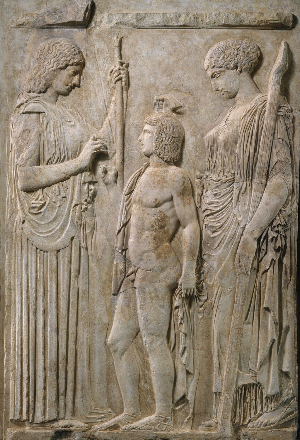 Fragment from the Eleusinian Relief