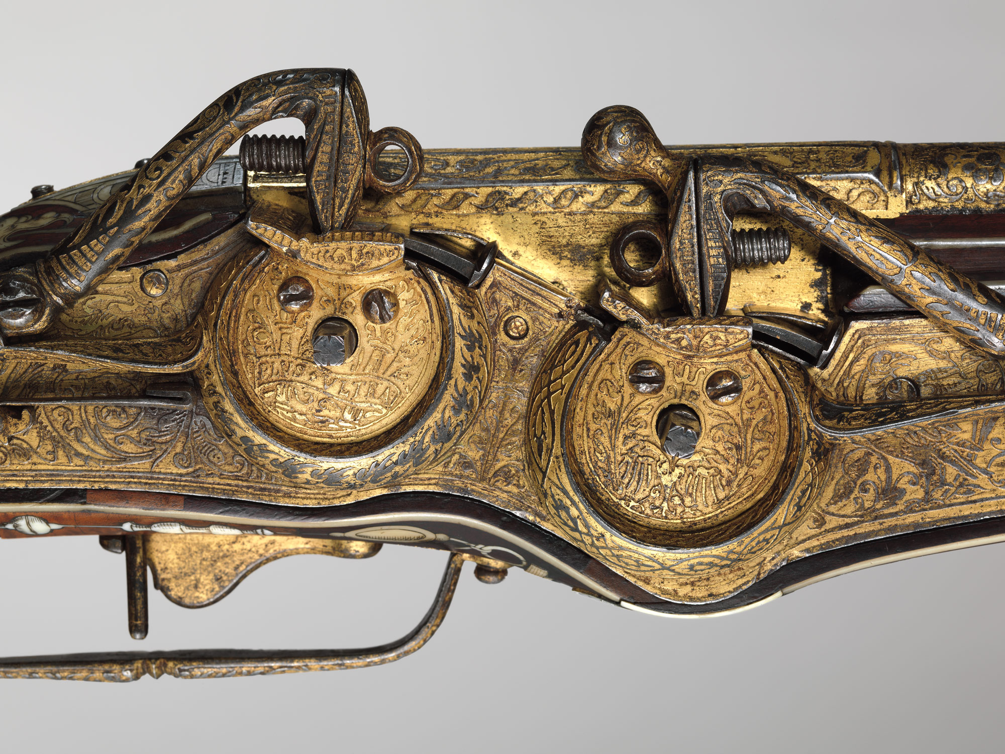 Double-Barreled Wheellock Pistol Made for Emperor Charles V (reigned 1519–56)