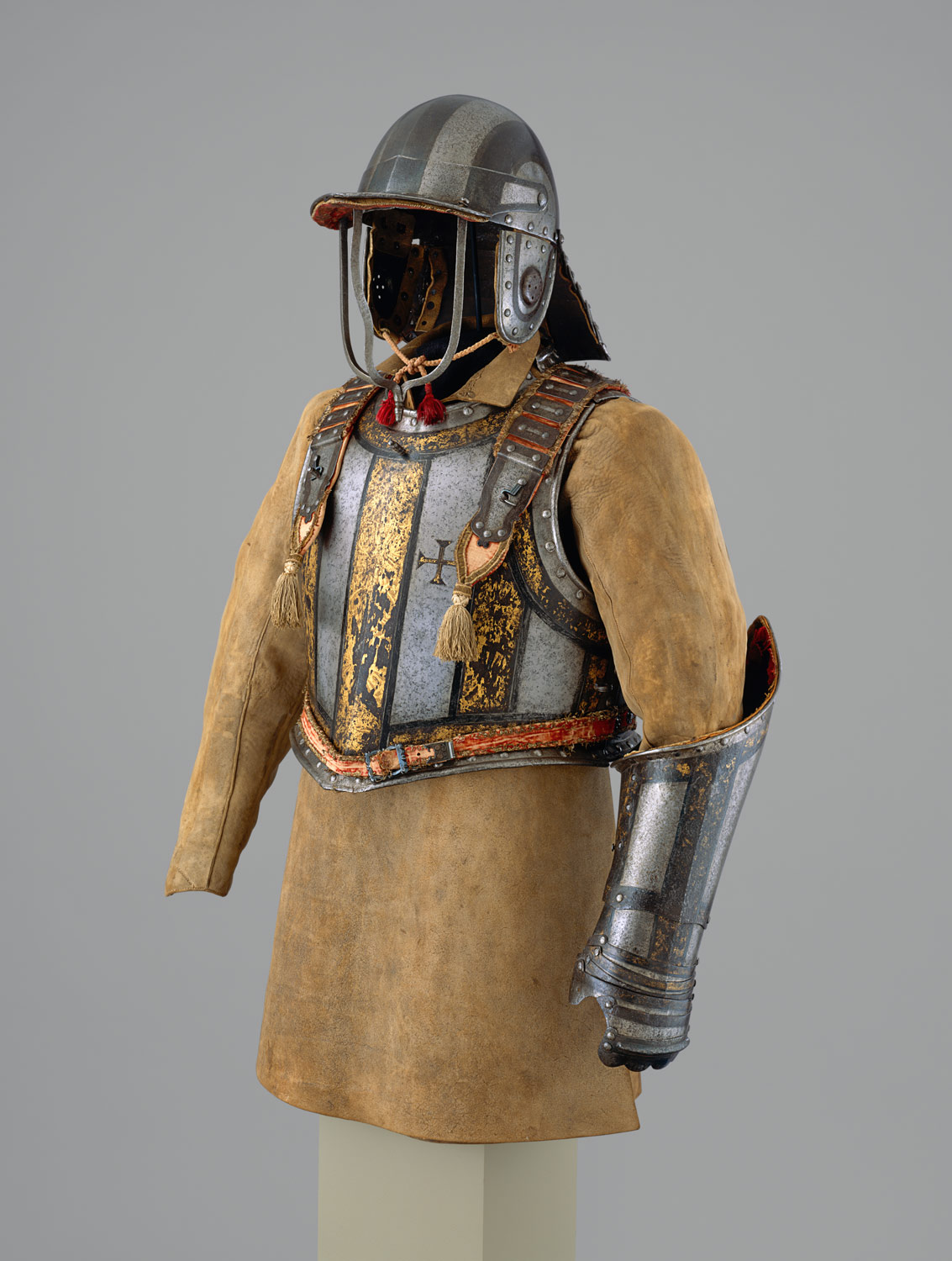 Harquebusiers Armor of Pedro II, King of Portugal (reigned 1683–1706) with Buff Coat