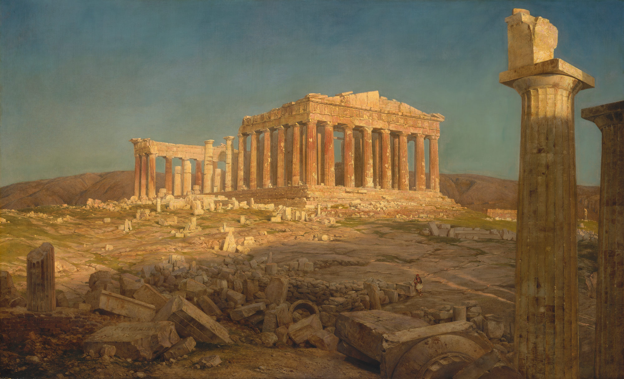 the parthenon frederic edwin church work of art the parthenon