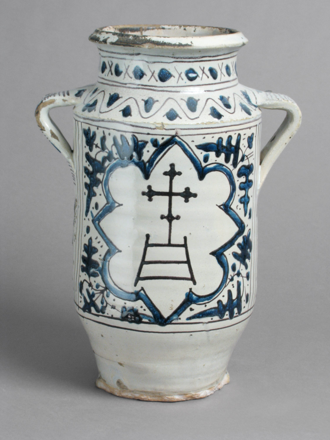 Pharmacy Jar with the Arms of the Hospital of Santa Maria della Scala