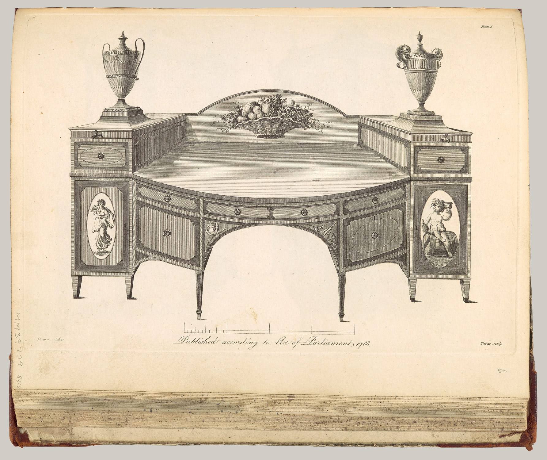 The cabinet-makers London book of prices, and designs of cabinet work, calculated for the convenience of cabinet makers in general, whereby the price of executing any piece of work may be easily found