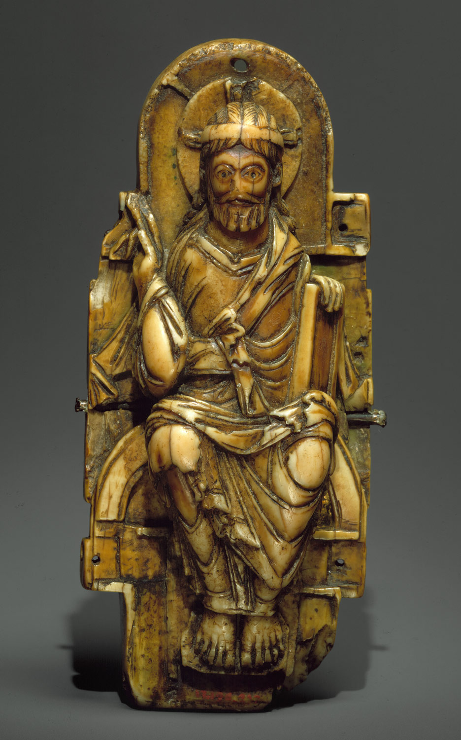 Pectoral with Christ and the Lamb of God and the Symbols of the Four Evangelists