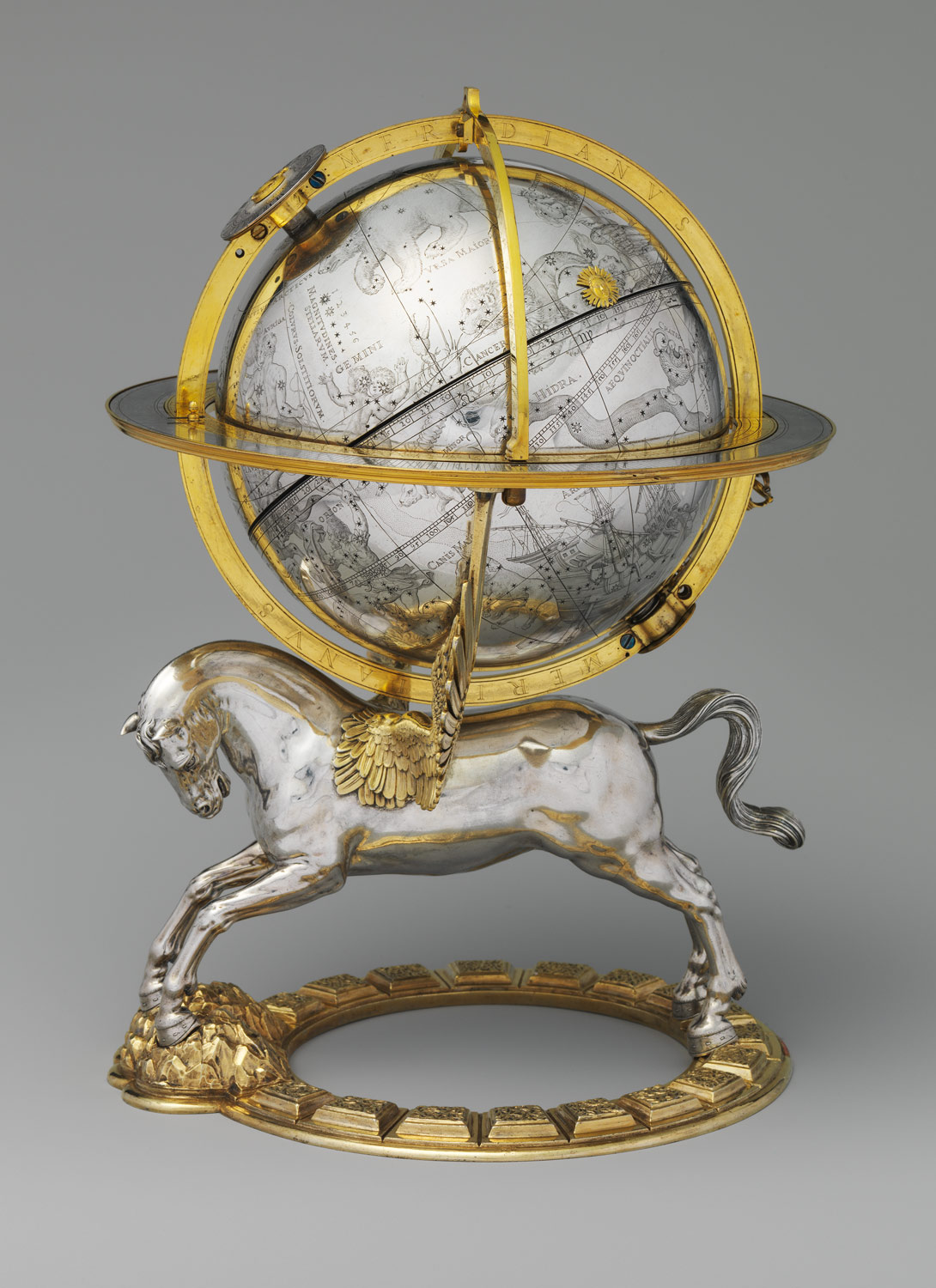 Celestial Globe with Clockwork