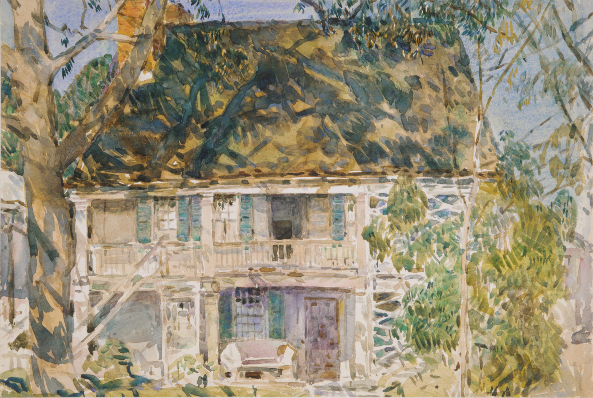 History of watercolor art -  The Brush House