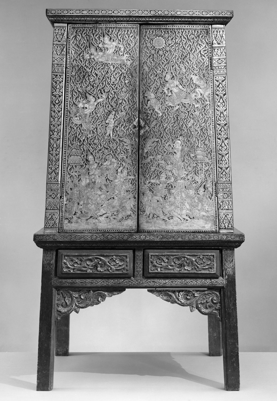 Manuscript Storage Cabinet Work Of Art Heilbrunn