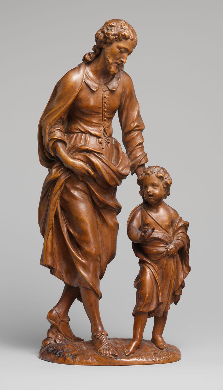 Saint Joseph And The Christ Child Nicolaas Van Der Veken