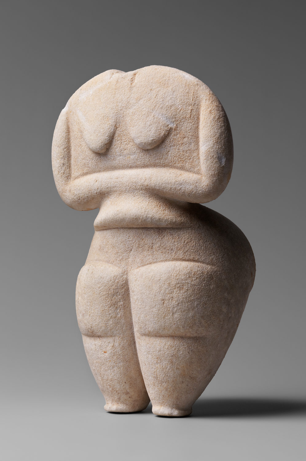 Marble female figure, cycladic figurines				,Stone Sculpture