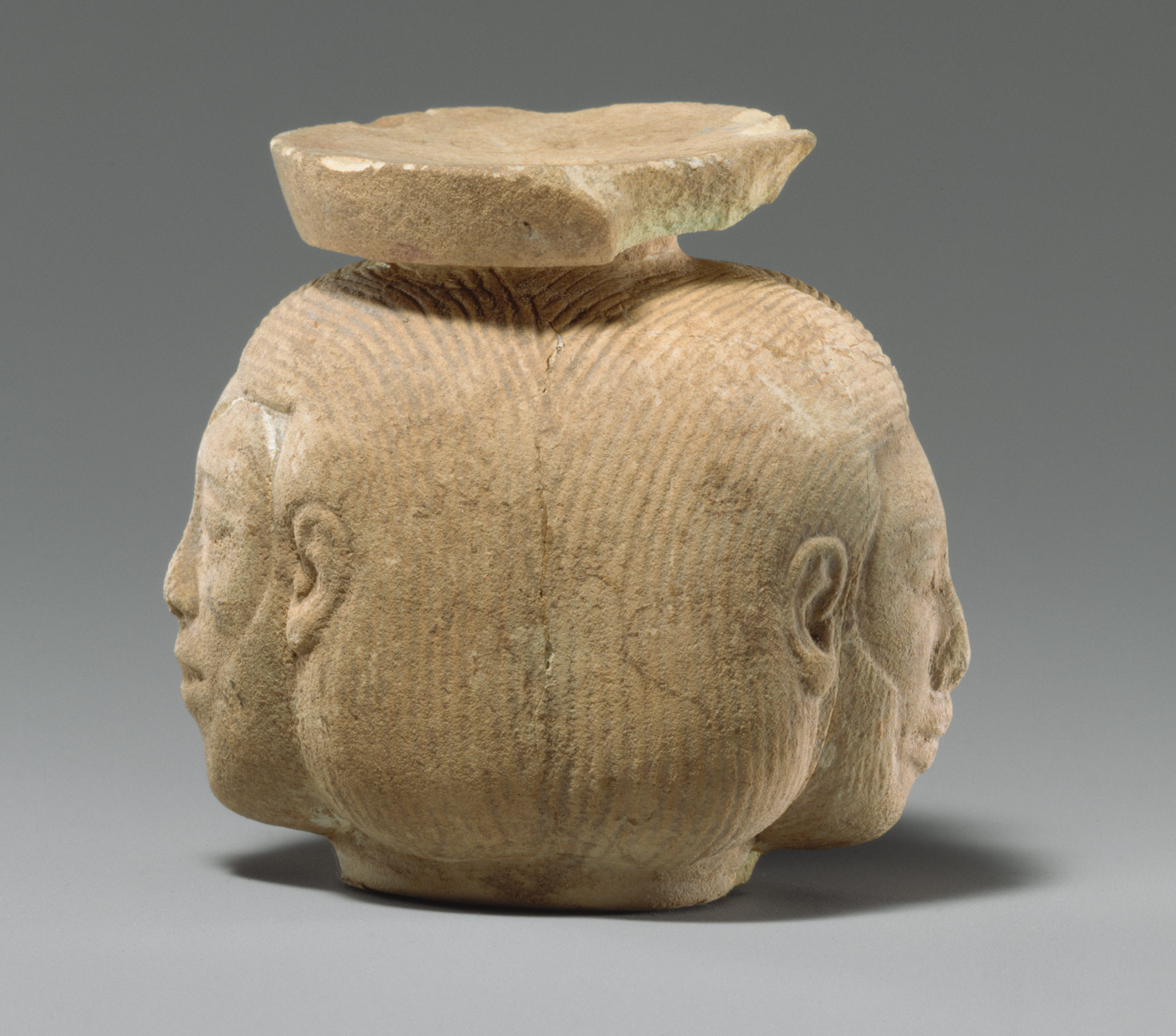 Aryballos (perfume vase) in the form of two heads