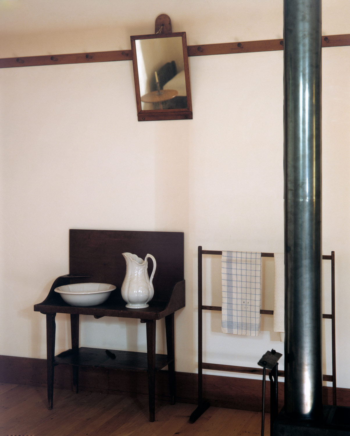 Architectural Elements From North Family Dwelling New Lebanon York