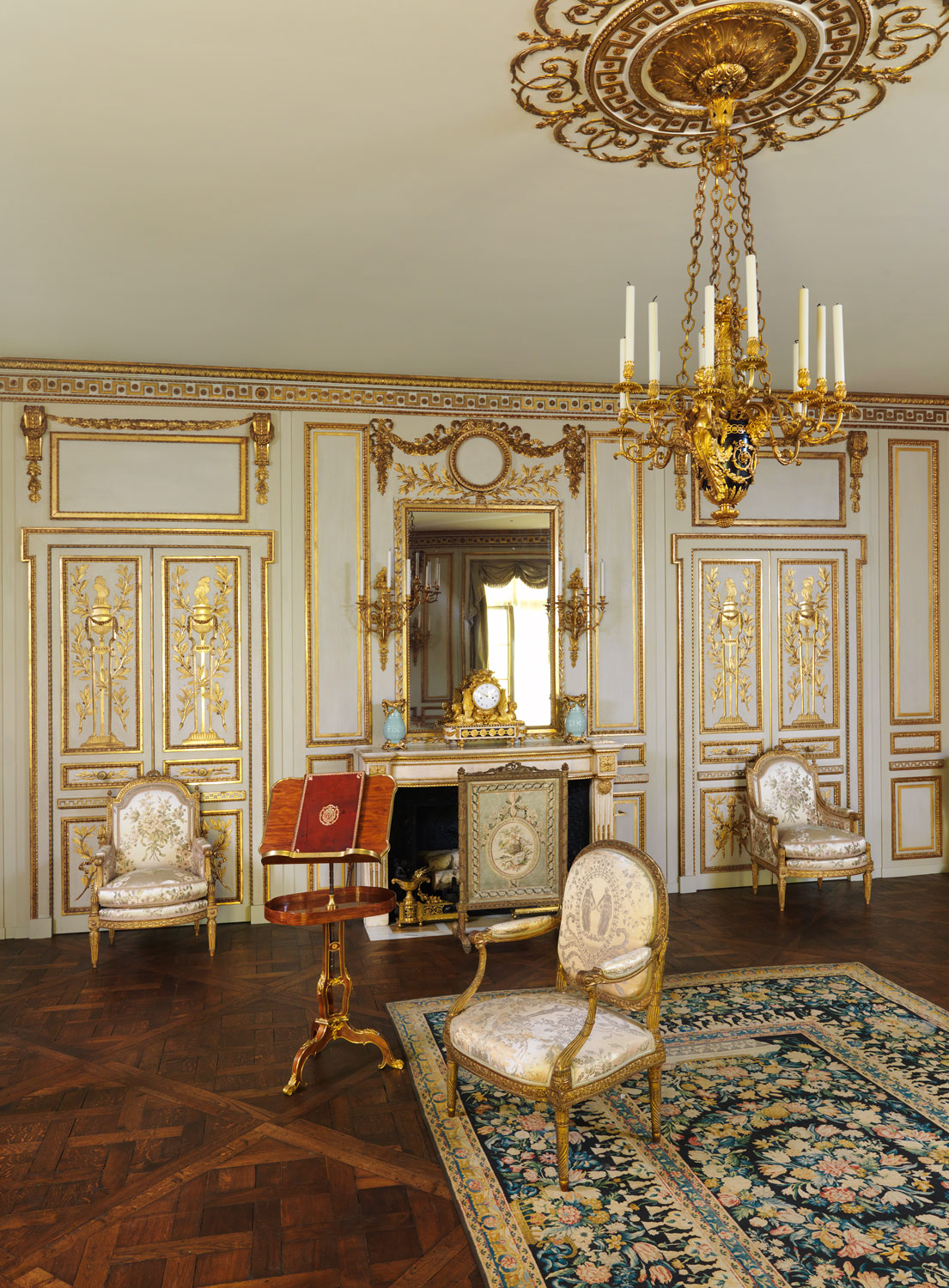 Boiserie from the Hotel de Cabris