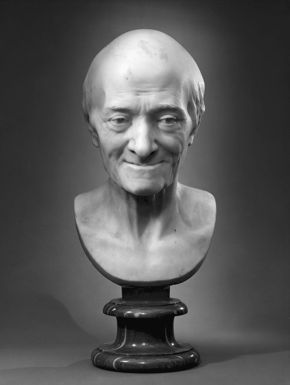 Voltaire (François Marie Arouet de Voltaire) (1696–1778), ArtistJean Antoine Houdon,Sculpture