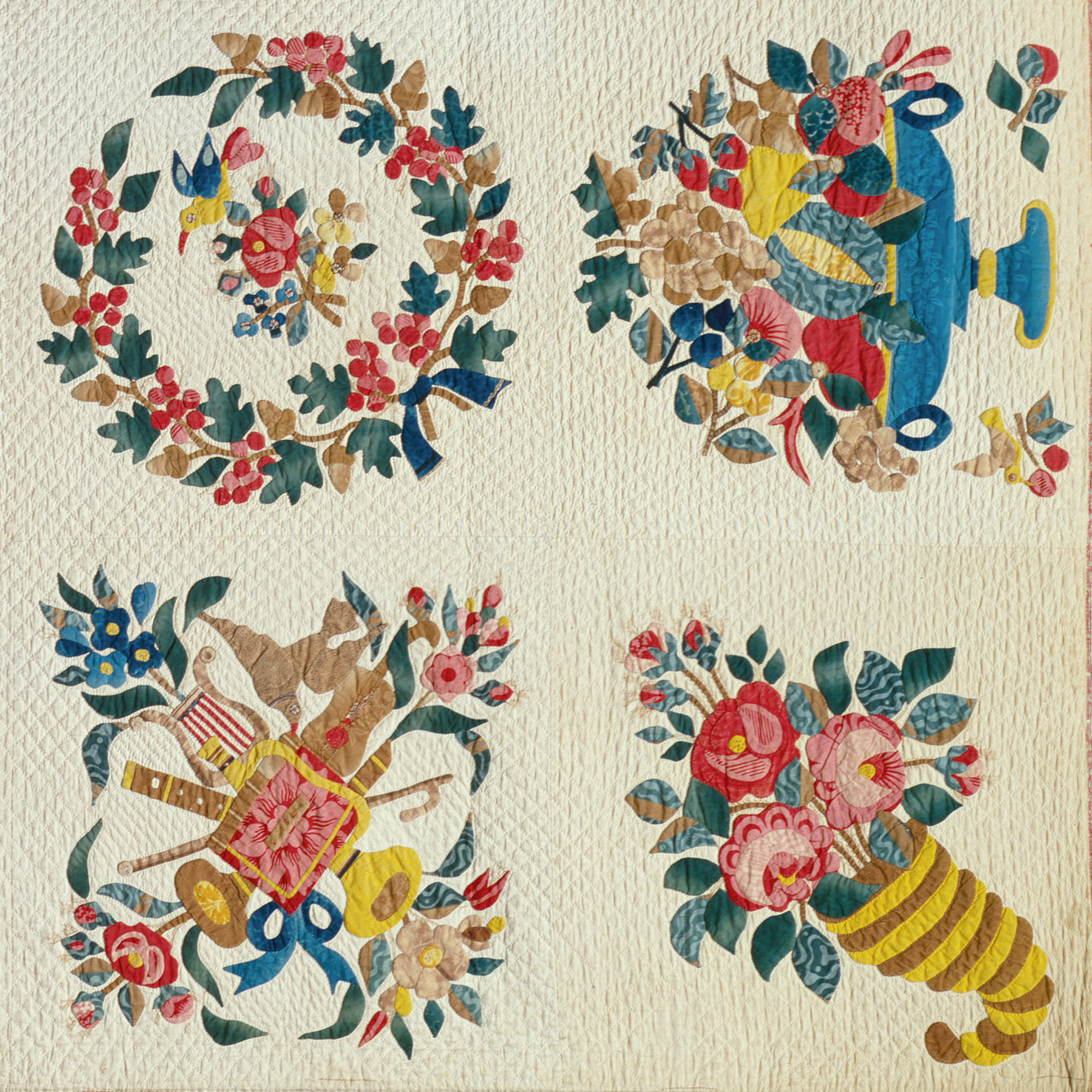 Quilt, Presentation pattern | Attributed to Mary Hergenroder Simon ... : quilting history timeline - Adamdwight.com