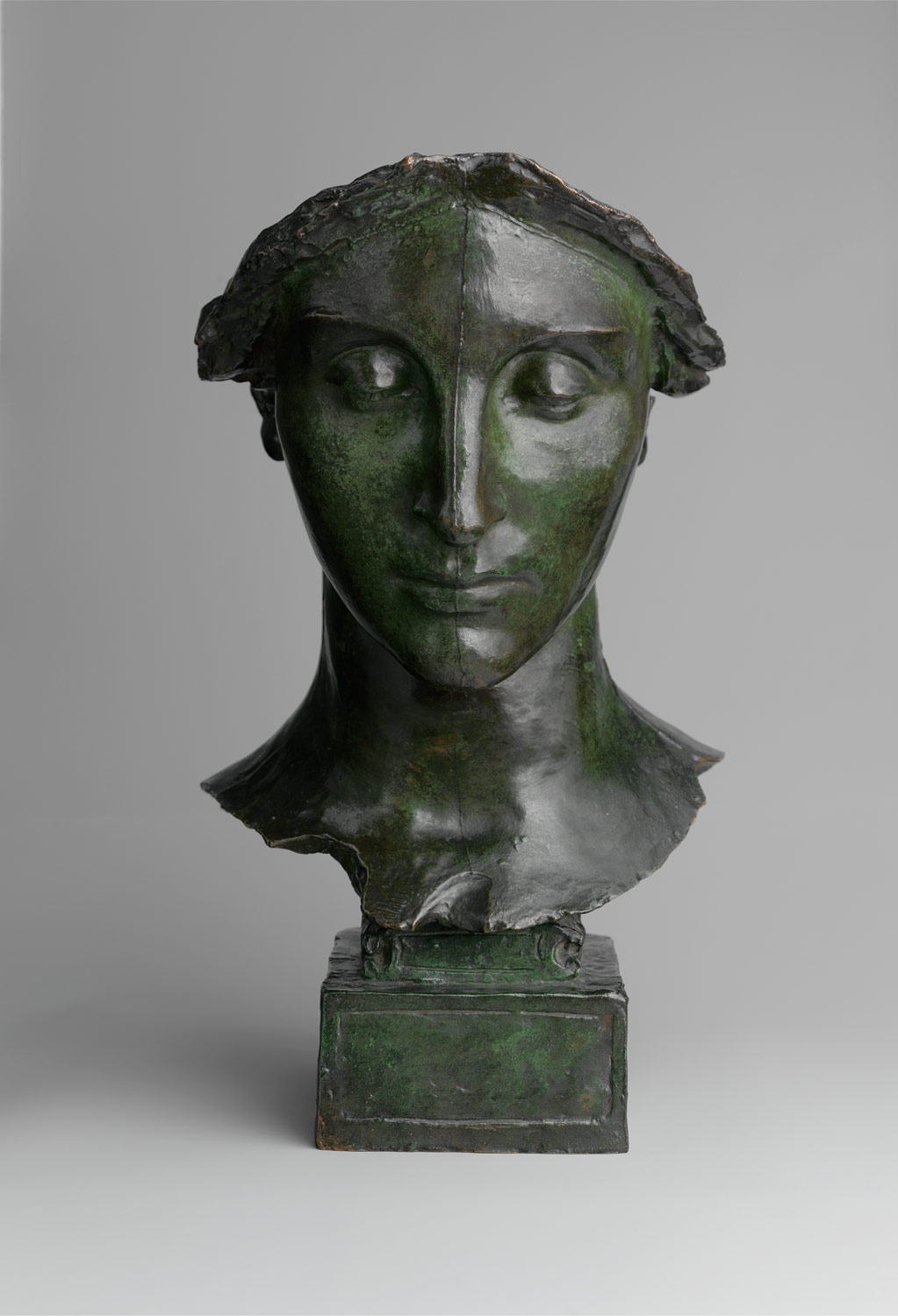 Study for the Head of The Melvin Memorial