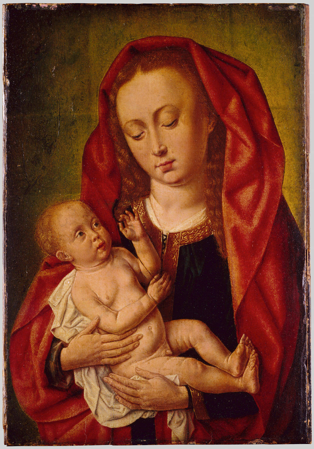 Virgin and Child with a Dragonfly
