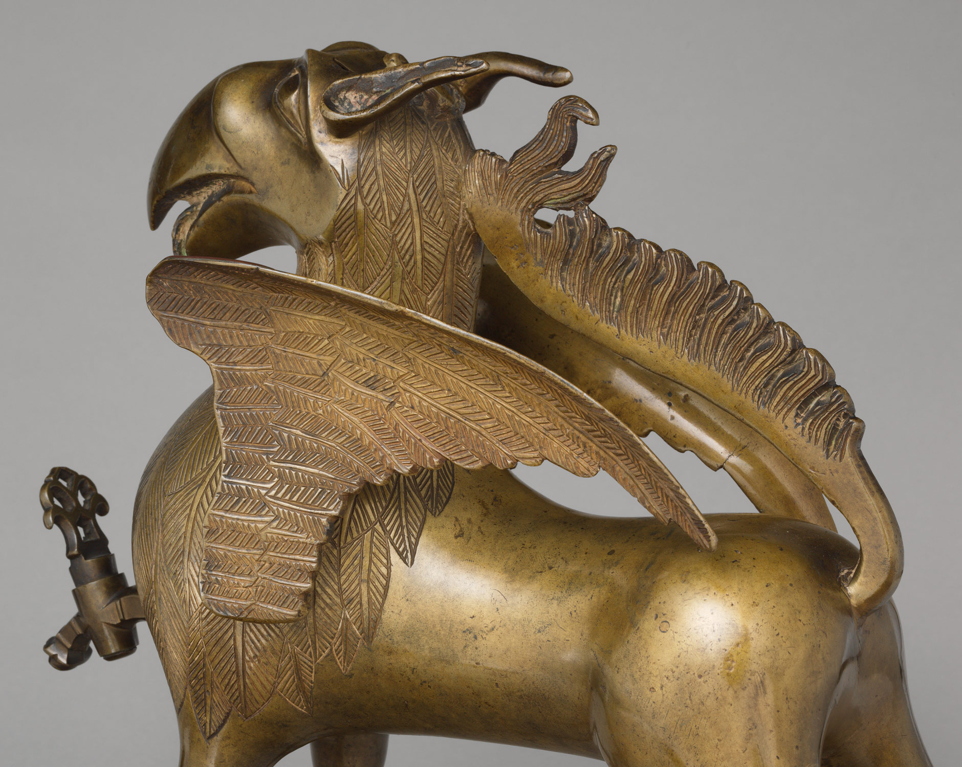 Aquamanile in the Form of a Griffin