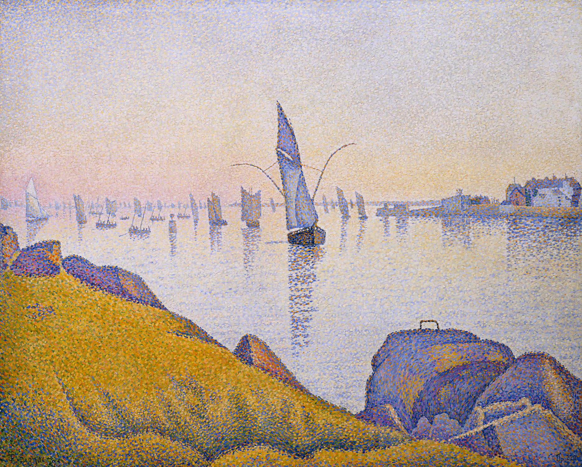 georges seurat and neo impressionism essay evening calm concarneau opus 220 allegro maestoso