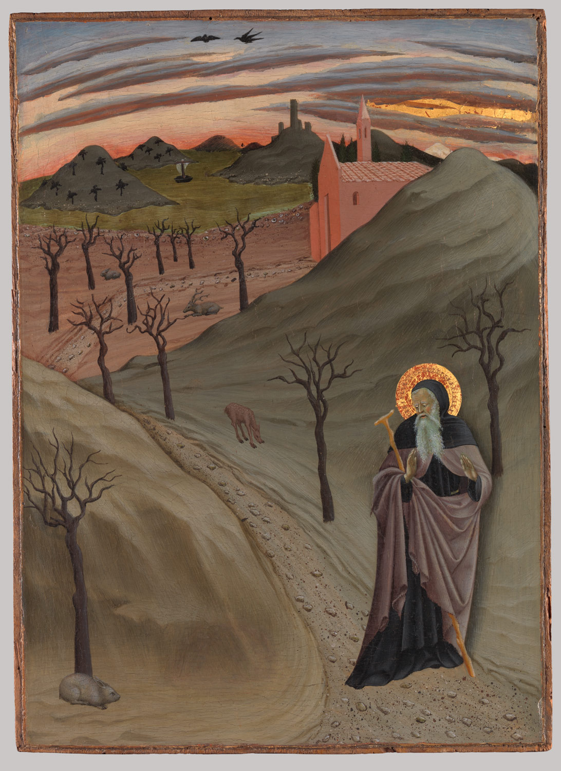 Saint anthony the abbot in the wilderness osservanza master saint anthony the abbot in the wilderness biocorpaavc