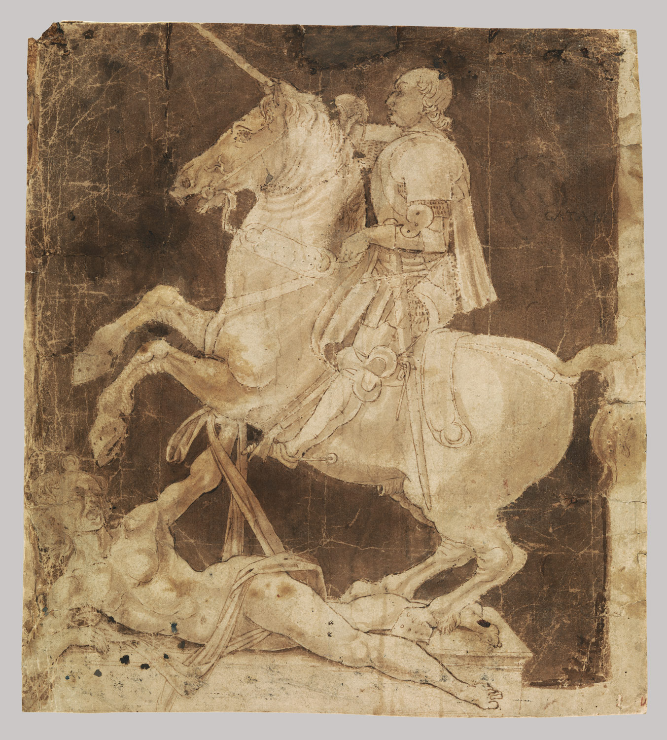 Study for an Equestrian Monument