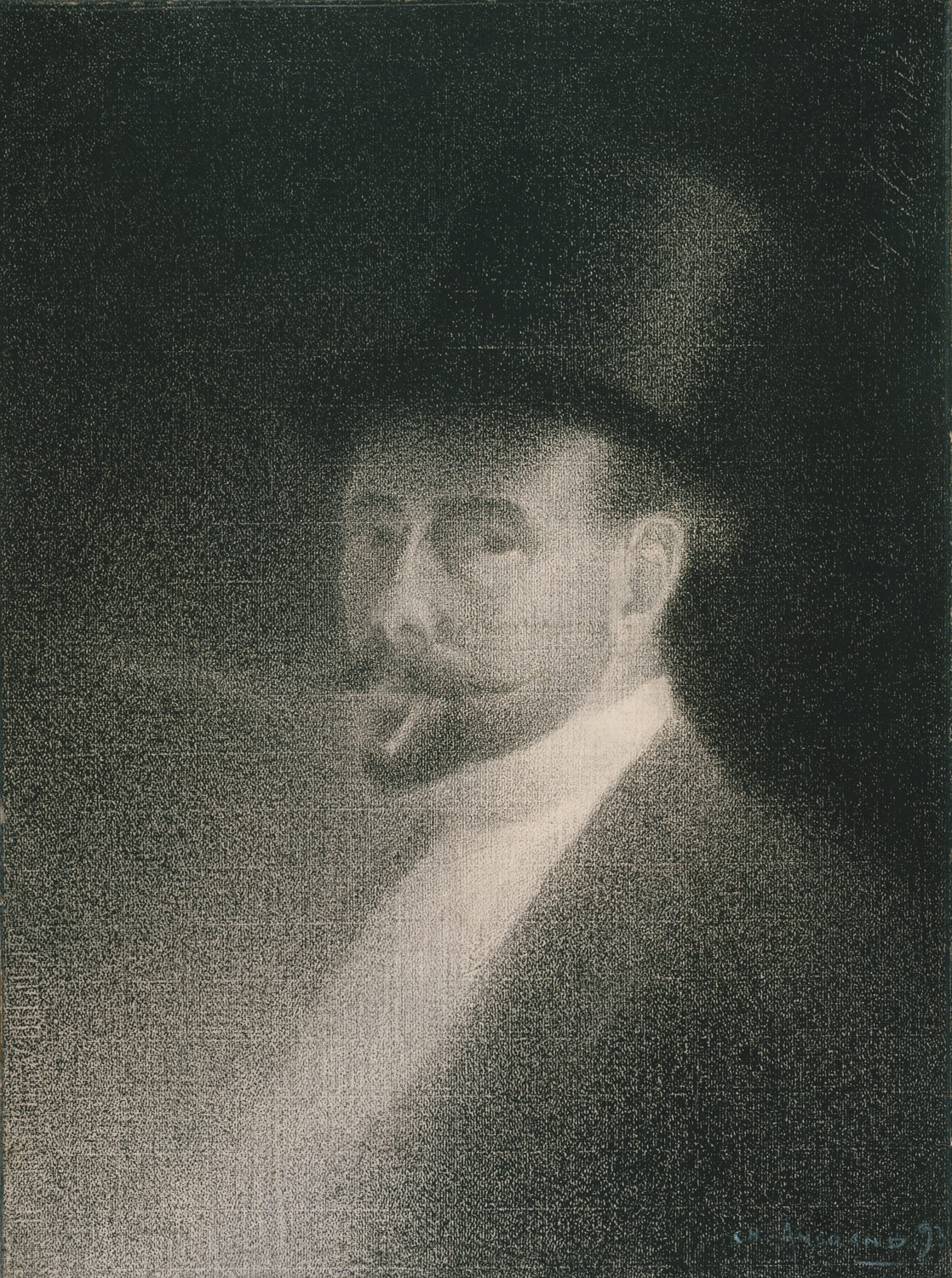 georges seurat and neo impressionism essay   self portrait